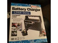 Battery charger 12 volt 4Amp new in box
