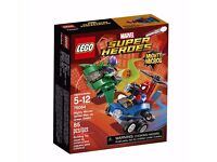 LEGO Super Heroes Mighty Micros: Spider-Man vs. Green Gobl 76064: Brand new and unopened
