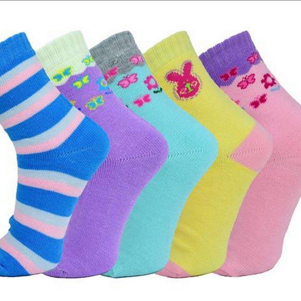 5 Paar Mädchen/ Damen Thermo Socken Strümpfe  32/35 36-39/ Vollfrottee Baumwolle