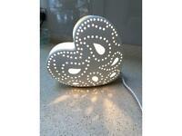 Pretty heart shaped light