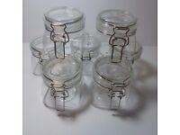 Transparent Kilner Jars. 32x 500cl.