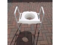 Mobility Toilet Seat Frame Disabled Elderly Support