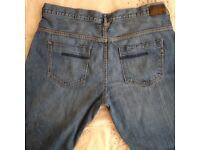 mens jeansBen Sherman icon stone washed jeans 40w 32l button fly only £10