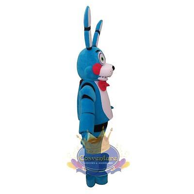 Fnaf Bonnie Halloween Costume (Five Nights at Freddy's Mascot Costume FNAF Toy Bonnie Cosplay)