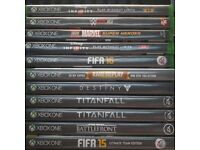 xbox one 11 games boxed