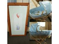 Moses Basket and Humphrey Elephant Picture