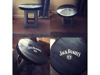 JACK DANIELS WHISKY LID TABLE