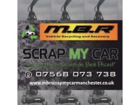 MBR SCRAP MY CAR MANCHESTER LTD - BEST PRICE PAID - 07568073738