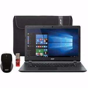 "Hamilton Local - Brand New Acer 15.6"" Laptop with carrying case / 8GB USB / wireless mouse - Payment Plan"