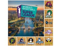 WOMENS BASKETBALL IN LONDON - JOIN THE SUPERLEAGUE NOW!