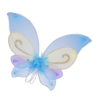 Children Girls Fairy Wings Angel Wing Party Birthday Halloween Costume Gift ()