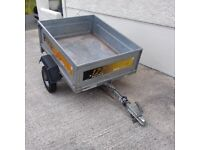 TRAILER ERDE 122 New Style FULLY GALVANISED 4' x 3' – EXCELLENT CONDITION