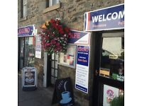 Cafe, Restaurant, Take Away & Outside Catering . Business for sale in Aberfeldy, Perthshire Scotland