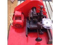 Mancuna Key Machine model 855 GT key cuttings