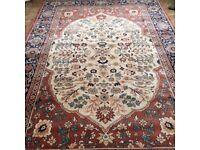Wool Rug - Royal Keshan hand made rug 2 X 3 metres