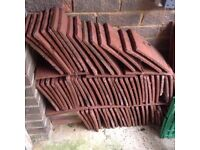 Job lot of over 100 roof tiles