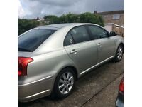 Toyota Avensis 03 plate 97000 miles