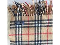 Original Cashier Burberry scarf