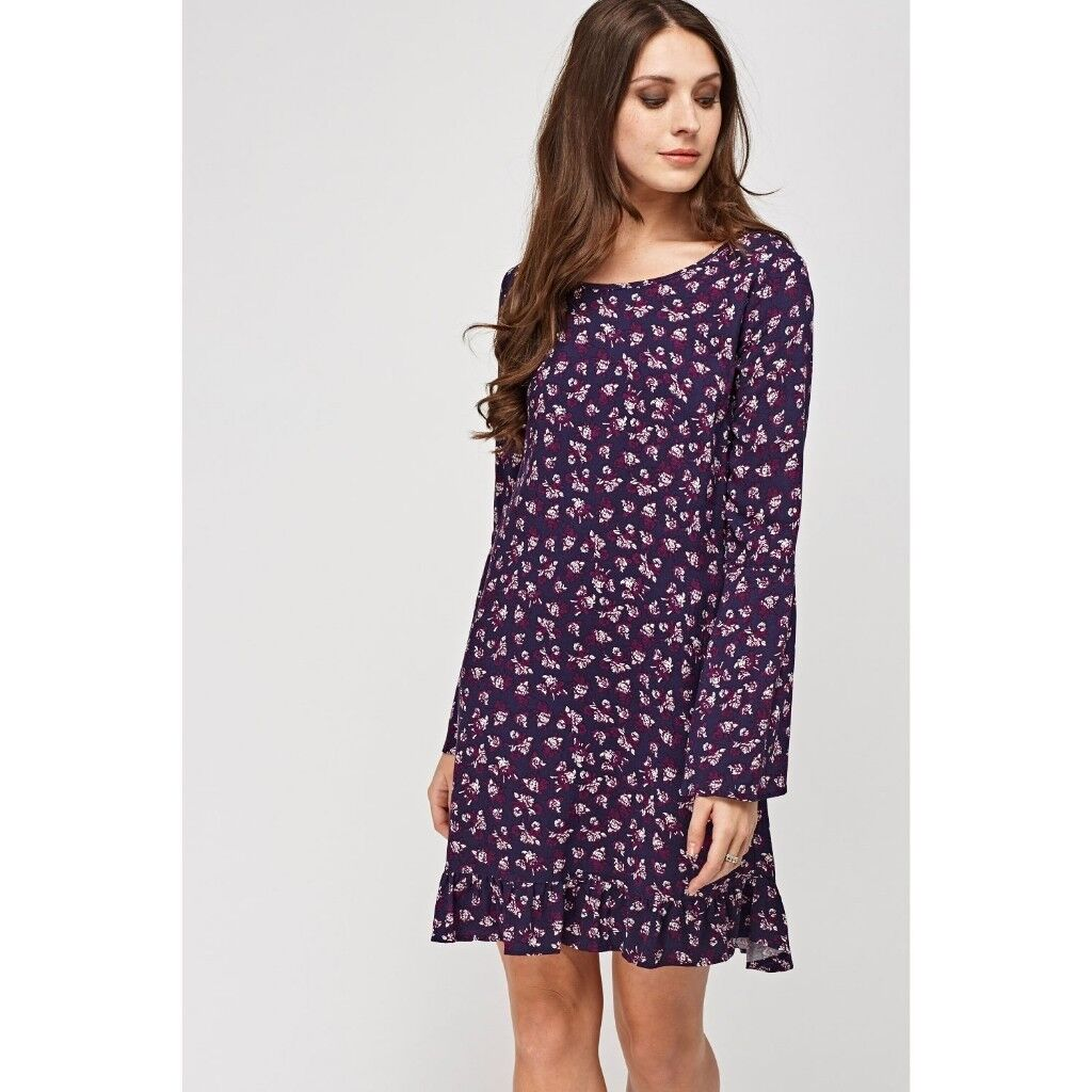 Charming Charlie purple dress, brand new never worn. Size small 8 ...