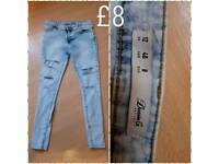 Jeans new size 12
