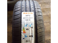 two 225/50zr17 tyres
