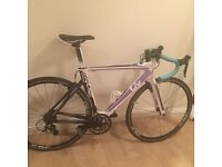 Ladies carbon aero road Bike 105 Group set .