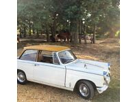 Triumph Herald 1250, 1966 With 11 Months MOT, 62000 Miles.