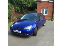 Ford Focus ST170 blue