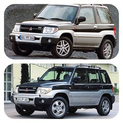 Mitsubishi Shogun Pinin, Montero iO, Pajero Pinin workshop service repair manual