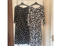 Dresses x 2 Black & White