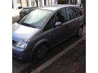 1.6 Vauxhall Meriva 1 previous owner mot clean body not corsa