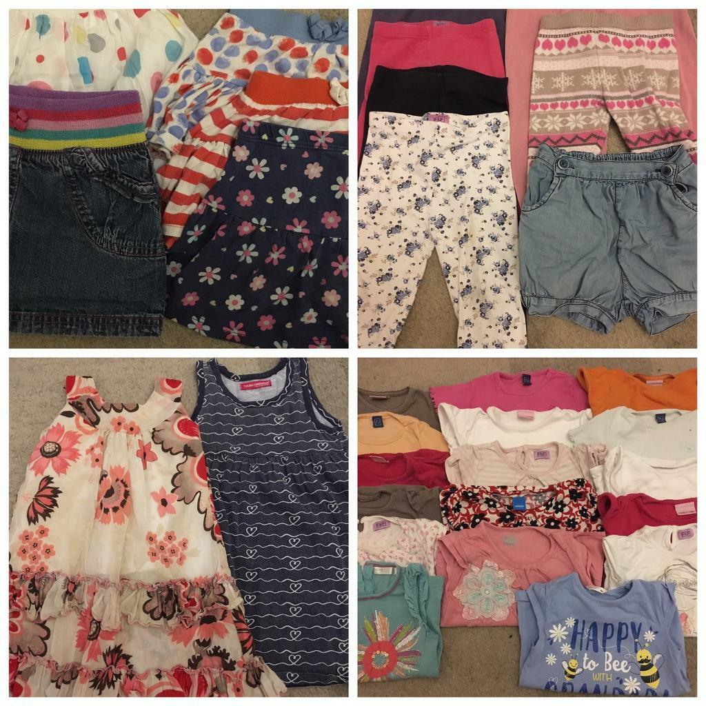 fd456267b6f6 Girls 18-24 Month Clothes Bundle - 48 Items!