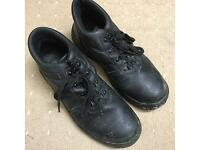Steel toe cap boots/factory shoes size 8