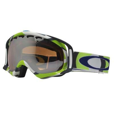 Oakley 57-791 CROWBAR Factory Slant 2 Green w/ Black Iridium Snow Ski Goggles