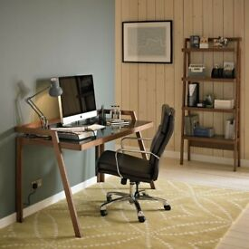 For Sale - John Lewis Gazelle Desk, Walnut - Excellent Condition