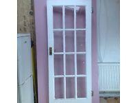 Original glazed door