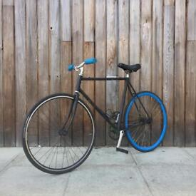 •• Fixie ONLY •• not no logo single speed Carrera trek racer hybrid Goku vintage