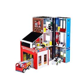 ELC wooden fire station