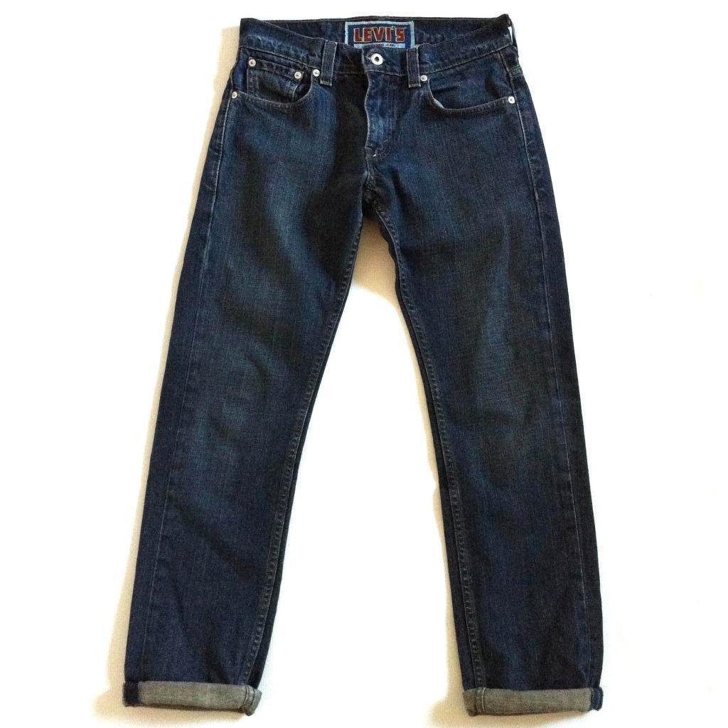 Levis 511 clean dark wash slim skinny leg jeans worn for Yamaha clavinova cvp 501 for sale