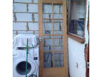 Internal glazed door - free to collector