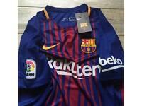 FC Barcelona 2017/18 Home Shirt