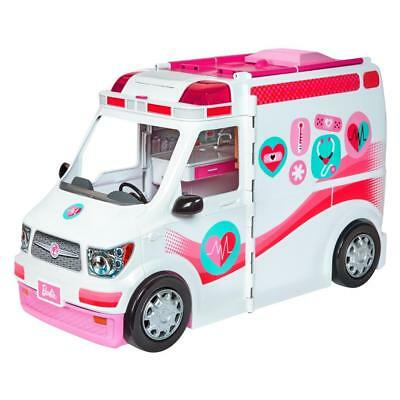 Barbie Care Clinic Playset Ambulance Hospital Vehicle Fun Accessories Toy NIB