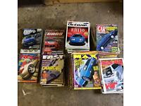 Job lot x140 car magazines, Max power, fast car, revs, Octane,redline