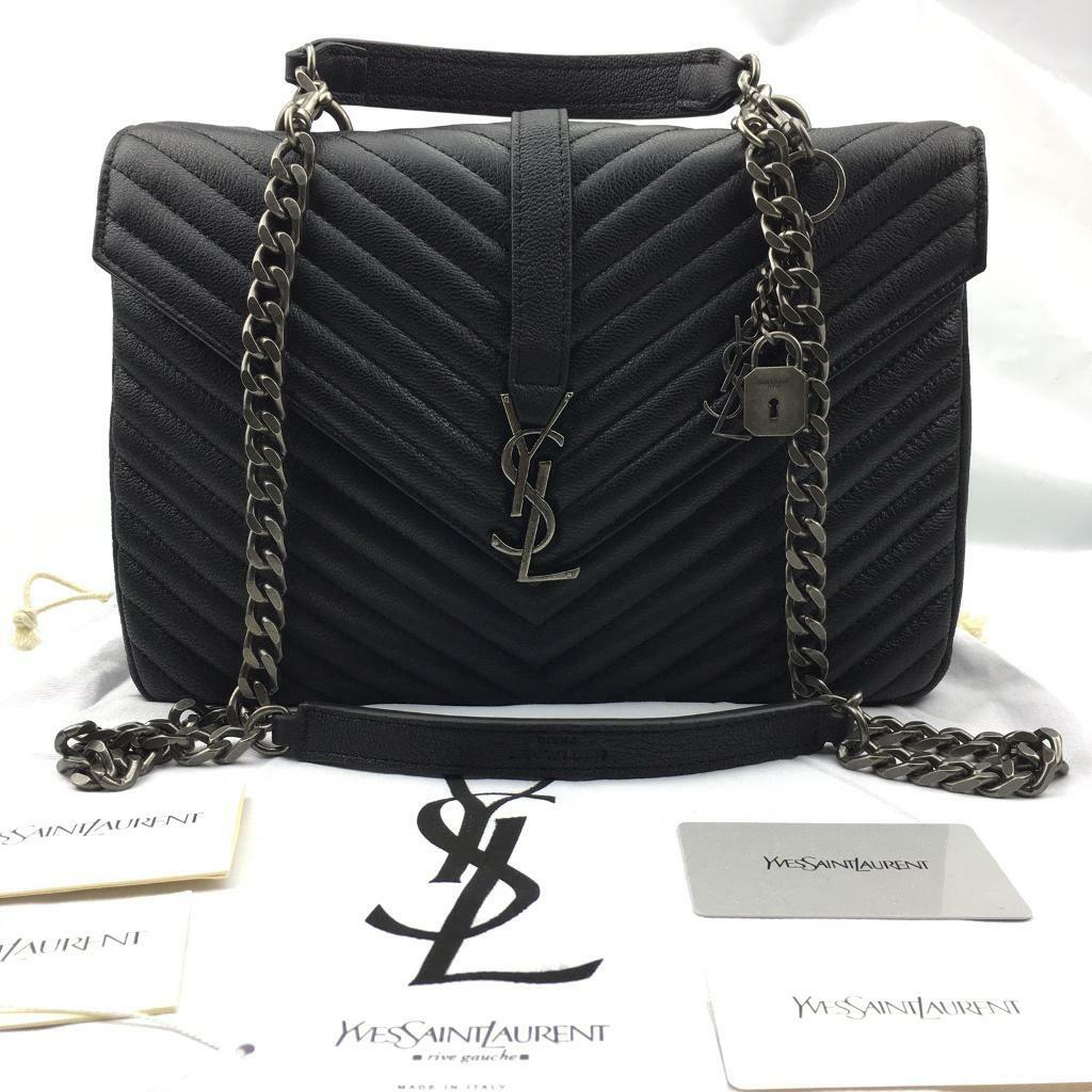 387599365b17 Classic large Monogram Saint Laurent cross body bag Matelasse leather  DISCOUNTED 399.99 OVNO YSL