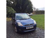 Ford Fiesta 2008 Blue Edition