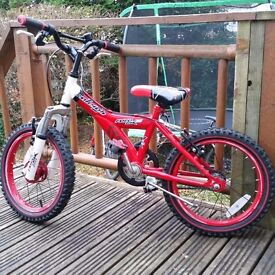 Raleigh MX16 Childrens Bike - 16""