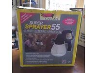 Earlex Super Sprayer 55 watt electric spray gun