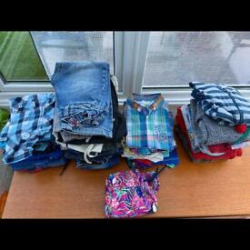 Bundle of boys clothes age 4-5. 48 items