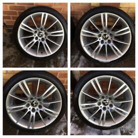 Genuine mv3 alloys with good Bridgestone tyres