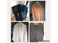 Size 14 Maternity Clothes Essentials Bundle - Topshop, Jojo Mamen Bebe and ASOS